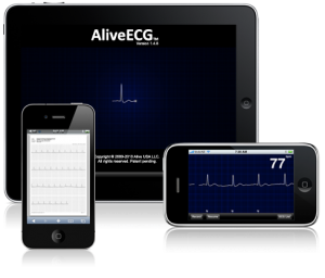 Beta tester did diagnosis on the fly with AliveCor iPhone heart monitor