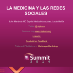 Mexico congress recap — Is it selfish for doctors not to be on Social Media?