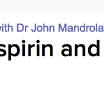 Less is more in atrial fibrillation stroke prevention — please, drop the aspirin